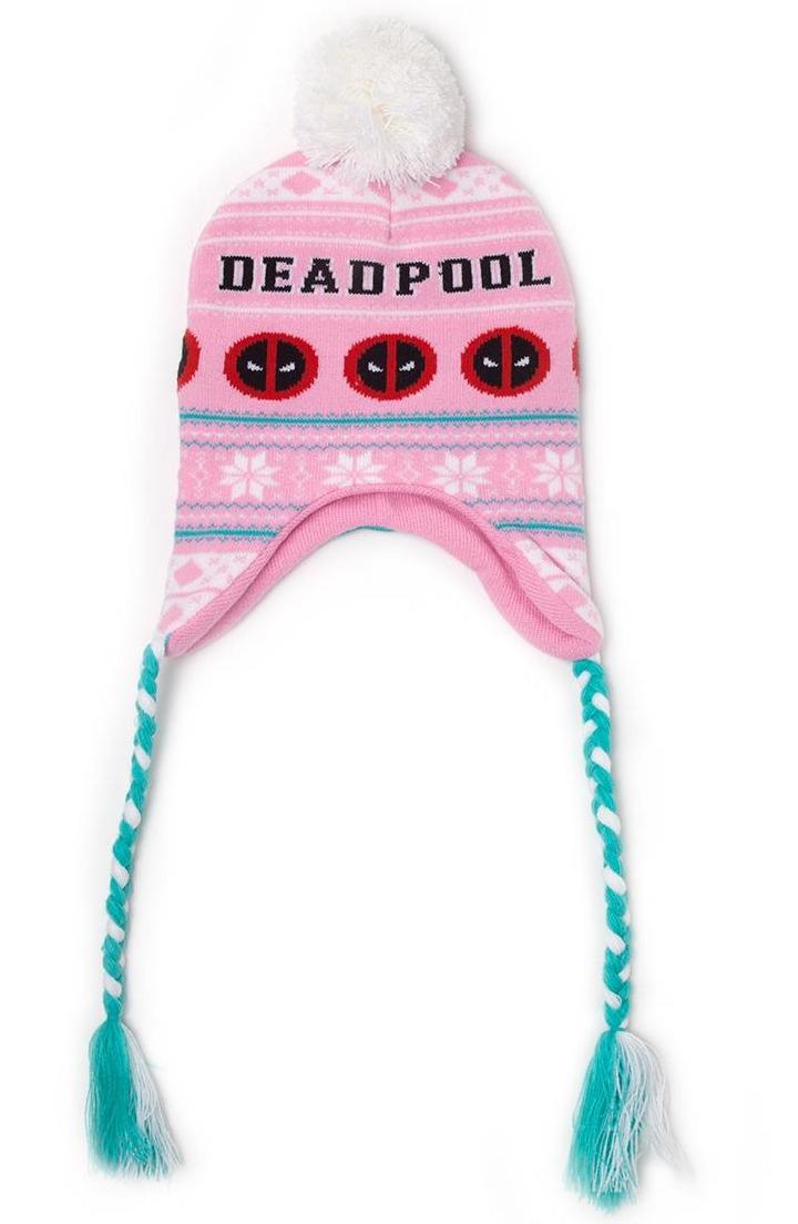 Čepice Deadpool - Pink Laplander (PC)