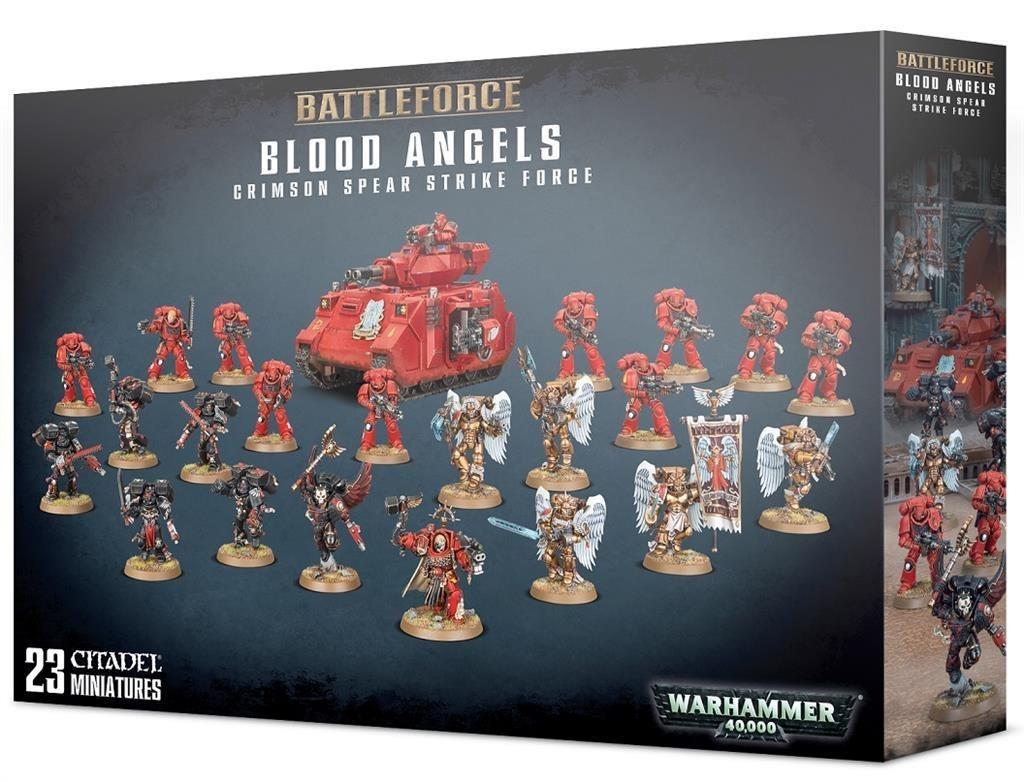 W40k: Blood Angels Crimson Spear Strike Force (23 figurek) (PC)