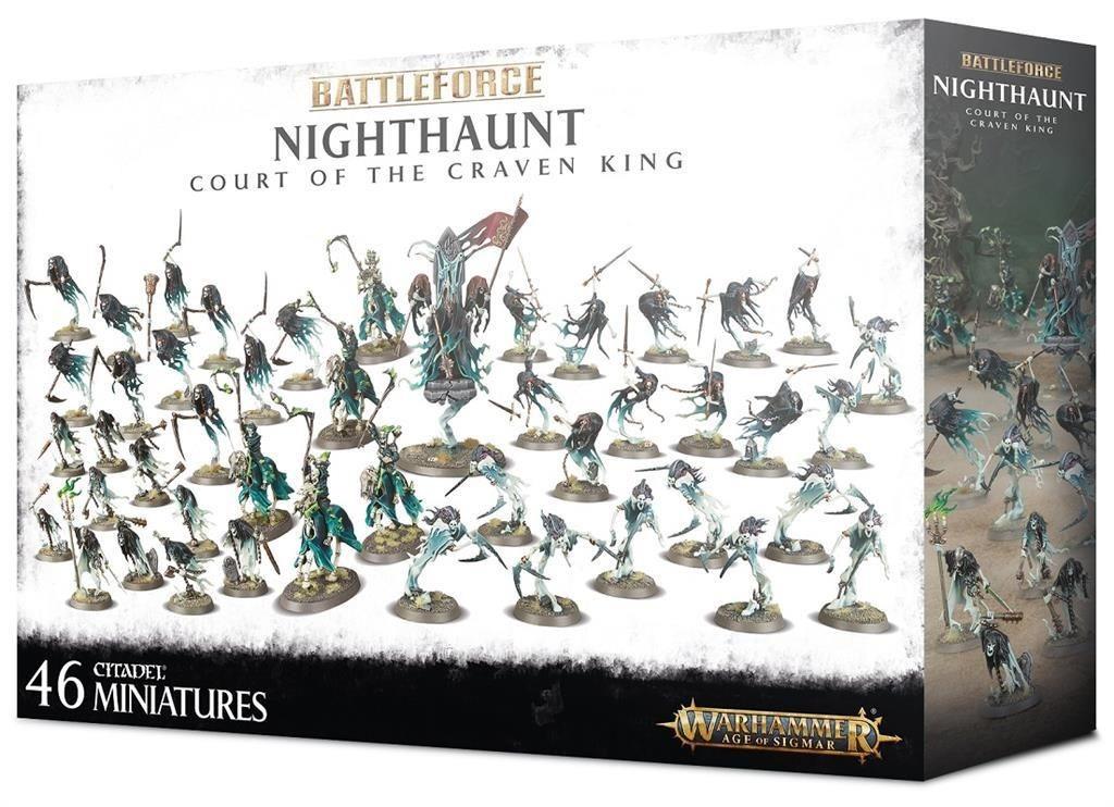 W-AOS: Nighthaunt: Court Of The Craven King (46 figurek) (PC)