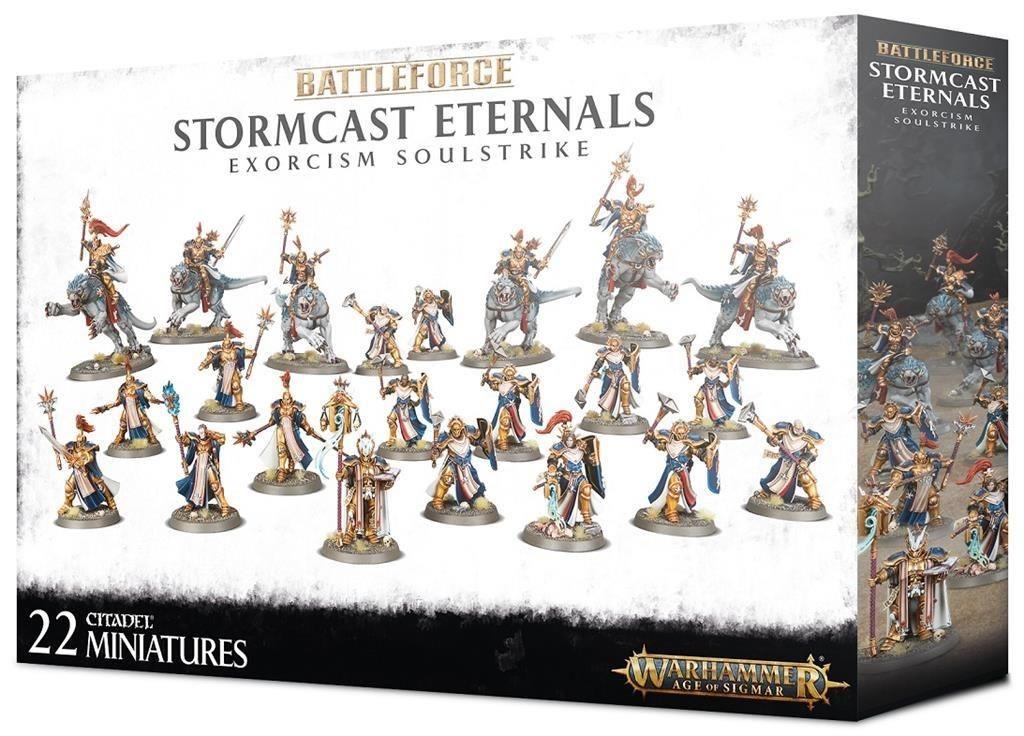 W-AOS: Battleforce: Stormcast Eternals Exorcism Soulstrike (22 figurek) (PC)