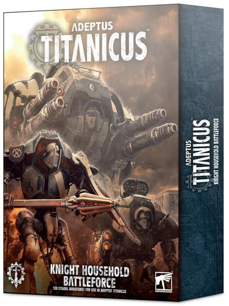 W40k: ADEPTUS TITANICUS: Knight Battleforce (12 figurek) (PC)