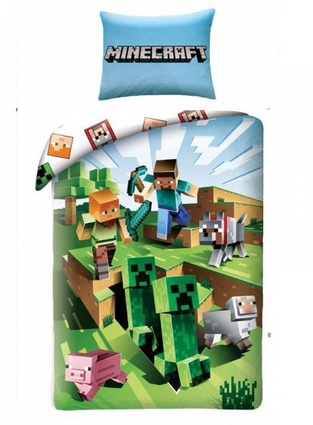 Povlečení Minecraft - Caves (PC)