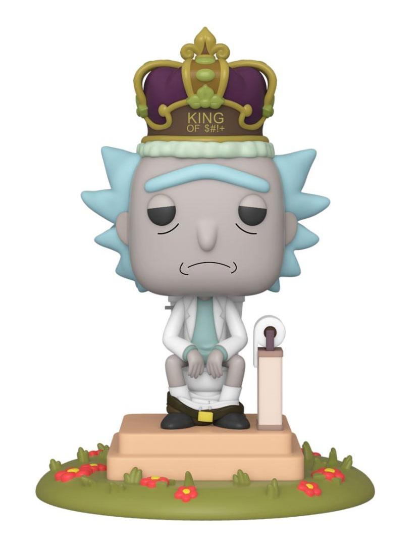 Figurka Rick and Morty - King of $#!+ (se zvuky) (Funko POP! Animation 694) (PC)
