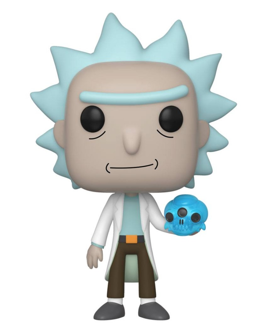 Figurka Rick and Morty - Rick with Crystals (Funko POP! Animation 692) (PC)