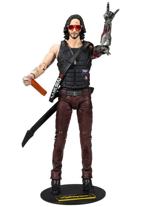Figurka Cyberpunk 2077 - Johnny Silverhand (McFarlane, 18 cm) (PC)