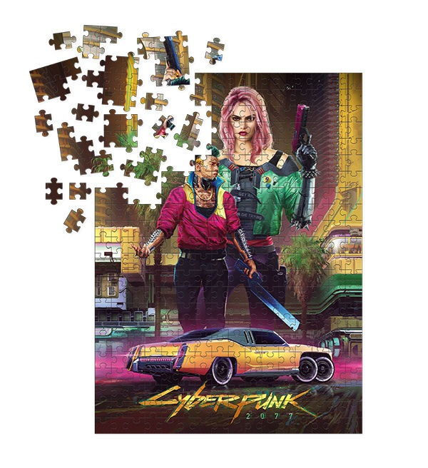 Puzzle Cyberpunk 2077 - Kitsch (PC)