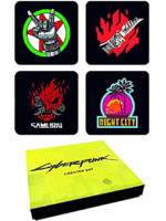 Podtácky Cyberpunk 2077 - Set #1