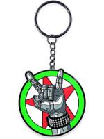 Klíčenka Cyberpunk 2077 - Silverhand Emblem