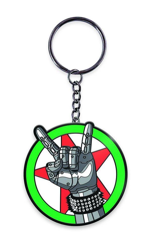 Klíčenka Cyberpunk 2077 - Silverhand Emblem (PC)