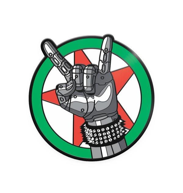 Odznak Cyberpunk - Silverhand Emblem (PC)