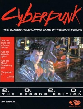 Kniha Cyberpunk 2020 - Core Rulebook (Stolní RPG) (PC)