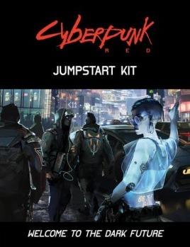 Kniha Cyberpunk Red: Jumpstart Kit (Stolní RPG) (PC)