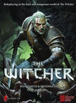 Kniha The Witcher (Stolní RPG - Základní set) (PC)