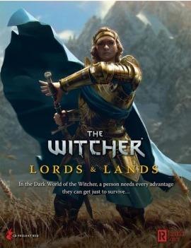 Kniha The Witcher: Lords and Lands (Stolní RPG - rozšíření) (PC)