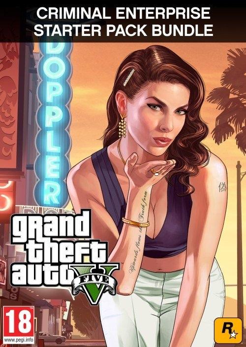 Grand Theft Auto V + Criminal Enterprise Starter Pack (PC DIGITAL)