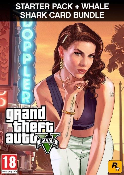 Grand Theft Auto V + Criminal Enterprise Starter Pack + Whale Shark Card (PC DIGITAL)