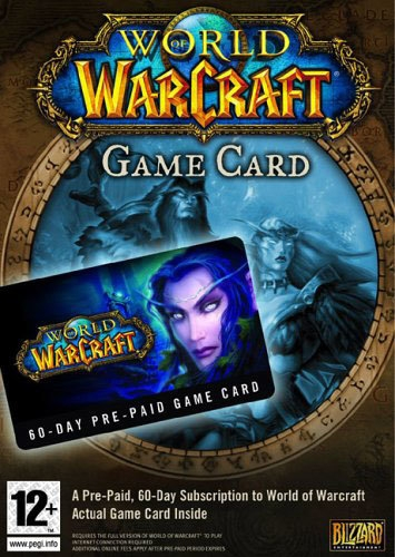 World of Warcraft 60-day time card (PC) DIGITAL (PC)