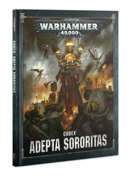 Kniha W40k: Codex: Adepta Sororitas (PC)