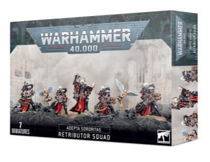 W40k: ADEPTA SORORITAS: Retributor Squad (7 figurek) (PC)