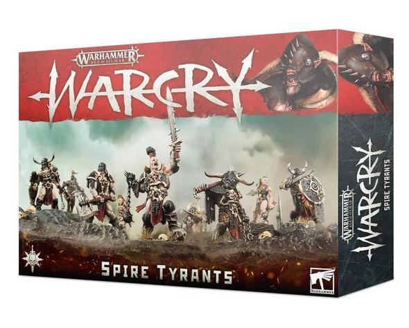 W-AOS: Warcry - Spire Tyrants (9 figurek) (PC)