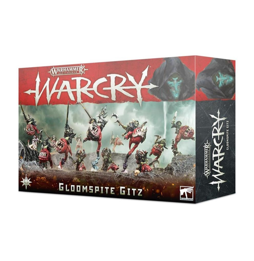 W-AOS: Warcry - Gloomspite Gitz (13 figurek) (PC)