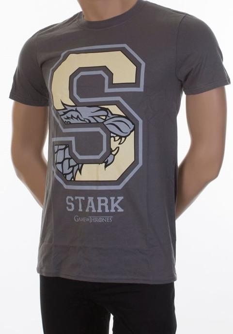 Tričko Game of Thrones - Stark Varsity (velikost XL) (PC)