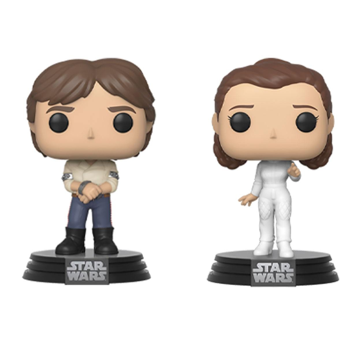 Figurka Star Wars - Han & Leia (Funko POP! Star Wars 2 Pack) (PC)
