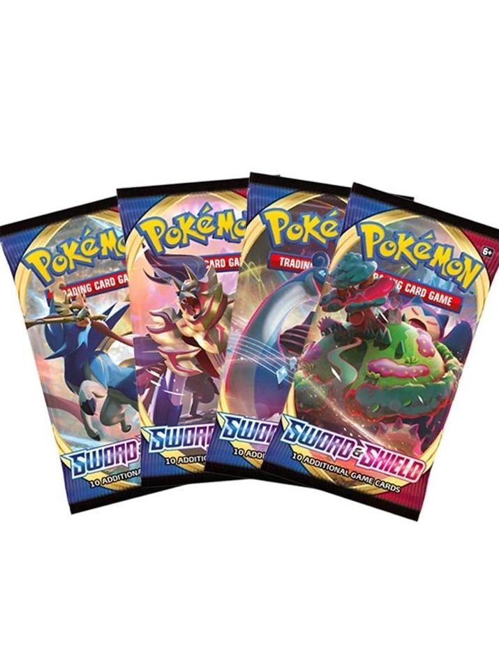 Karetní hra Pokémon TCG: Sword and Shield - Booster (10 karet) (PC)