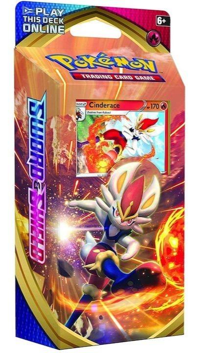 Karetní hra Pokémon TCG: Sword and Shield - Cinderace (Starter set) (PC)