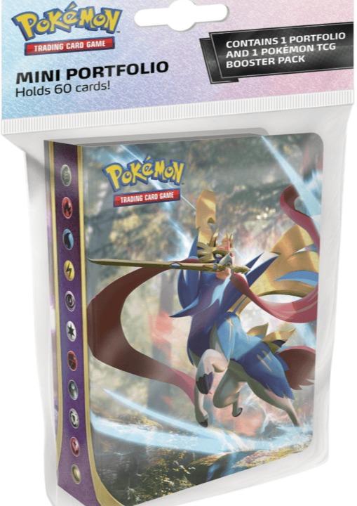 Karetní hra Pokémon TCG: Sword and Shield - Mini Album + booster (10 karet) (PC)