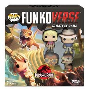 Desková hra POP! Funkoverse - Jurassic Park Base Set (PC)