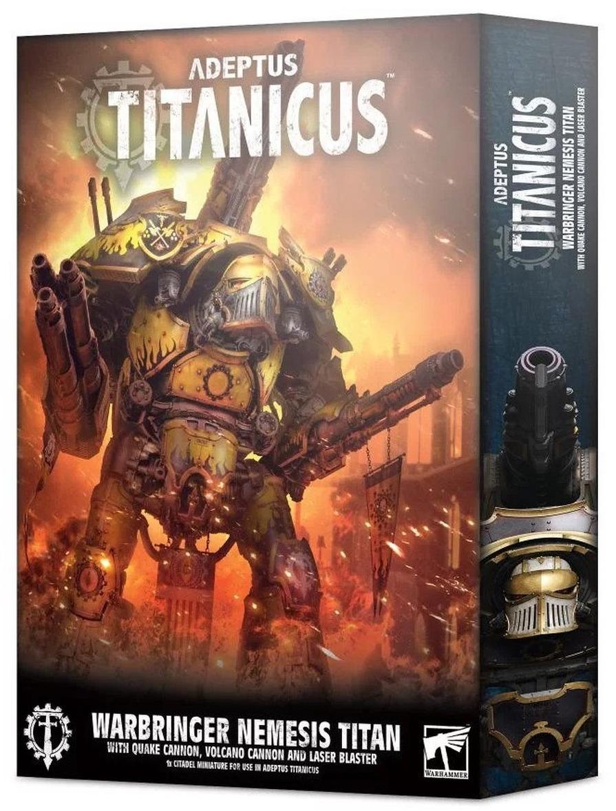 W40k: ADEPTUS TITANICUS Warbringer Nemesis Titan (1 figurka) (PC)
