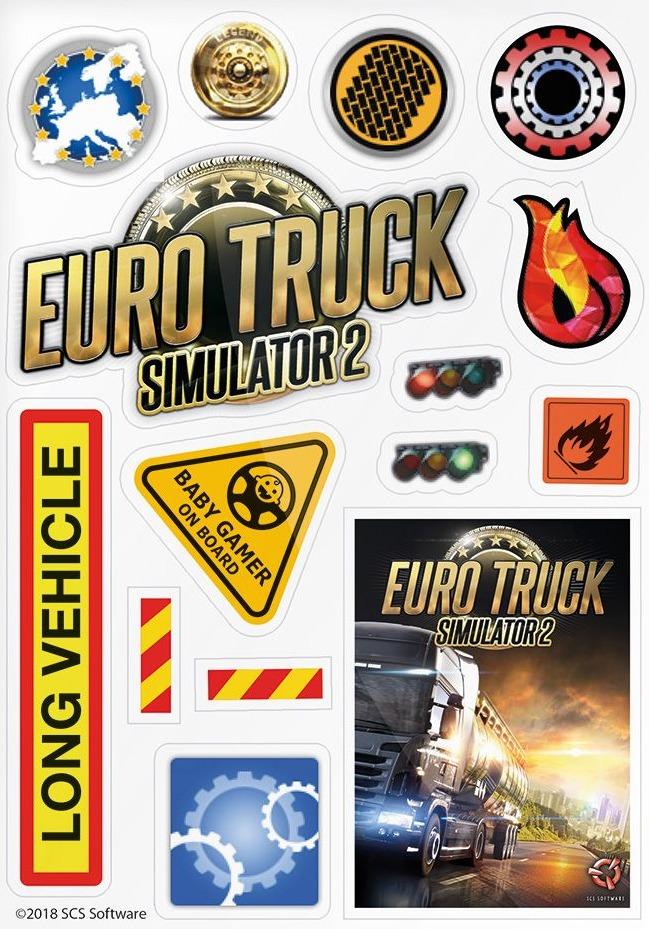 Samolepky Euro Truck Simulator (PC)