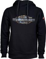 Mikina American Truck Simulator - Černá s logem