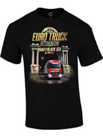 Tričko Euro Truck Simulator - Road to the Black Sea
