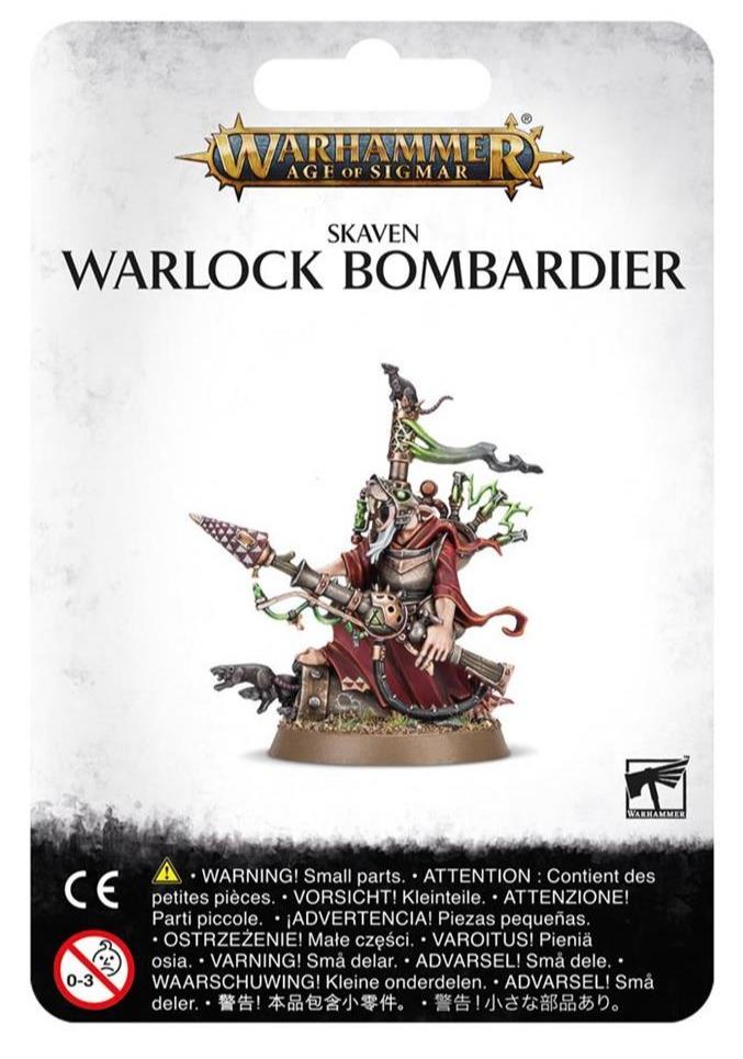 W-AOS: Skaven - Warlock Bombardier (PC)