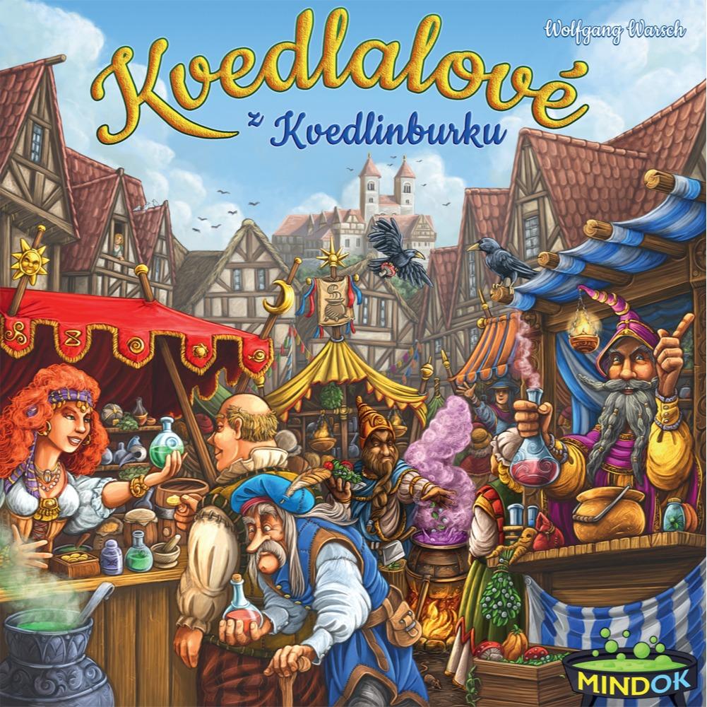 Desková hra Kvedlalové z Kvedlinburku (PC)