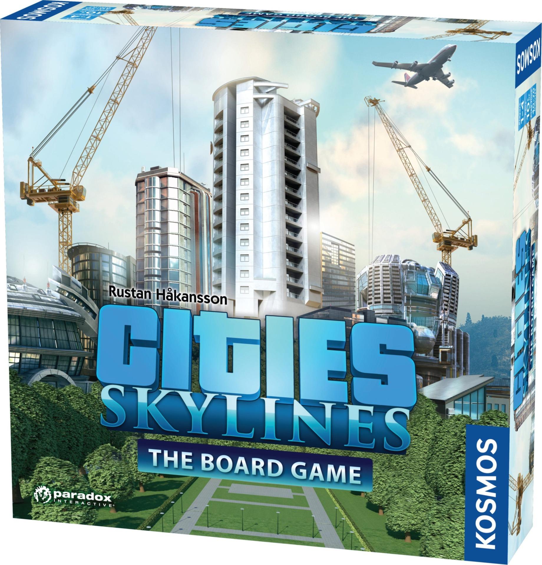 Desková hra Cities Skylines - The Board Game (PC)
