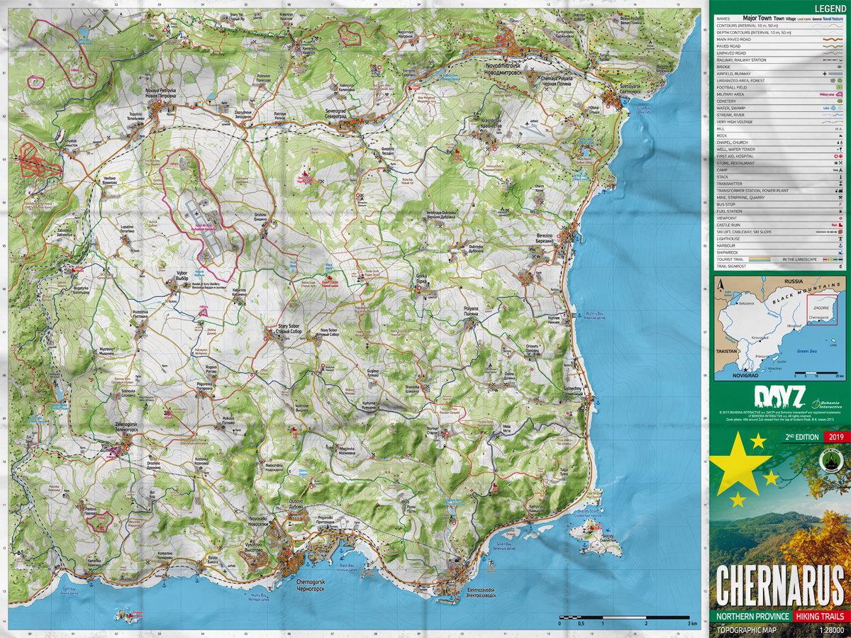 Mapa DayZ - Chernarus (PC)