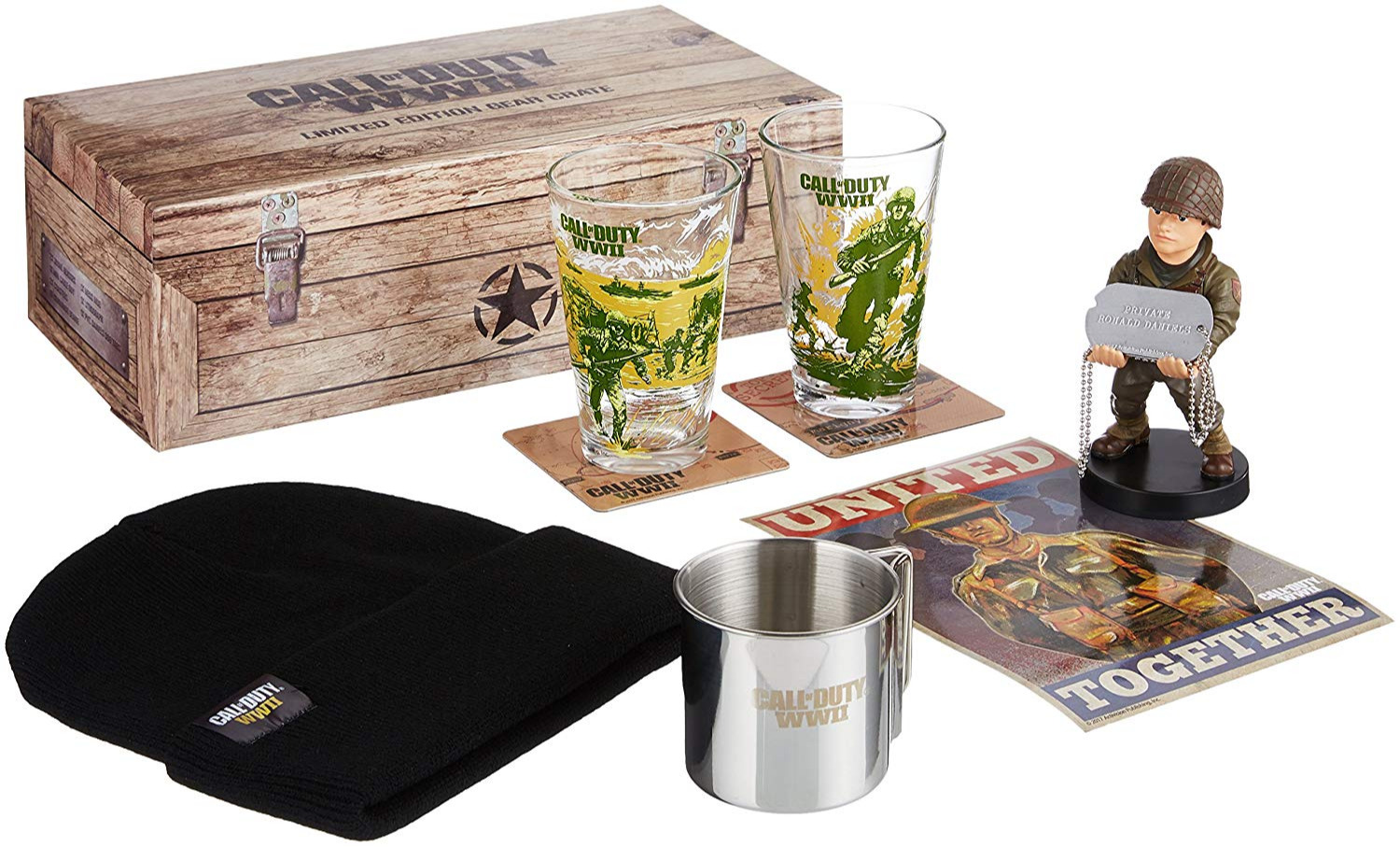 Dárkový set Call of Duty: WWII - Limited Edition Gear Crate (PC)