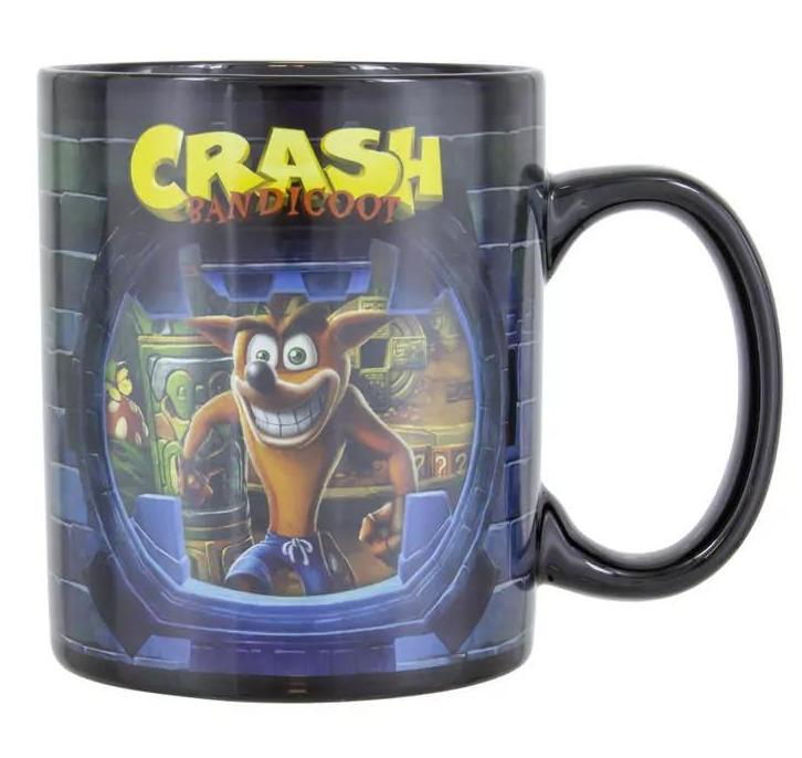 Hrnek Crash Bandicoot - Crash Bandicoot (Měnící se) (PC)
