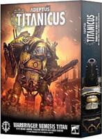 W40k: ADEPTUS TITANICUS Warbringer Nemesis Titan with Quake Cannon
