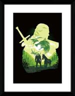 Zarámovaný plakát Xzone Originals - Silueta s Klepnou