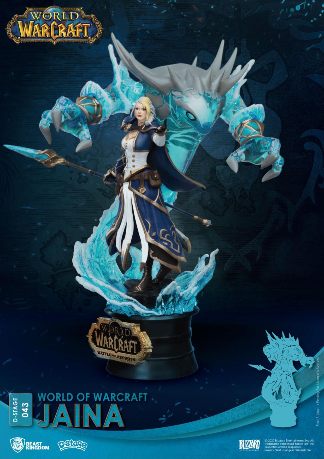 Figurka World of Warcraft - Jaina Proudmoore (PC)