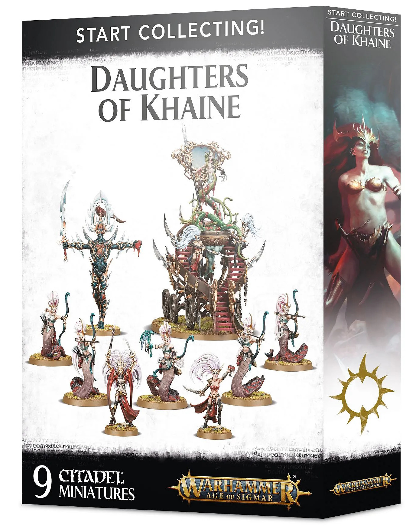 W-AOS: Start Collecting Daughters of Khaine (9 figurek) (PC)