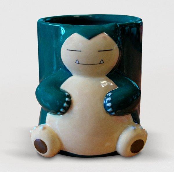 Hrnek Pokémon - Snorlax 3D