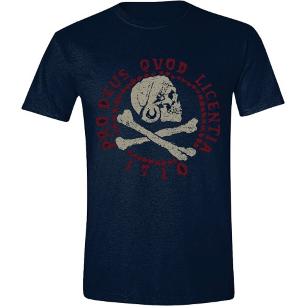 Tričko Uncharted 4 - Skull Logo (velikost L) (PC)