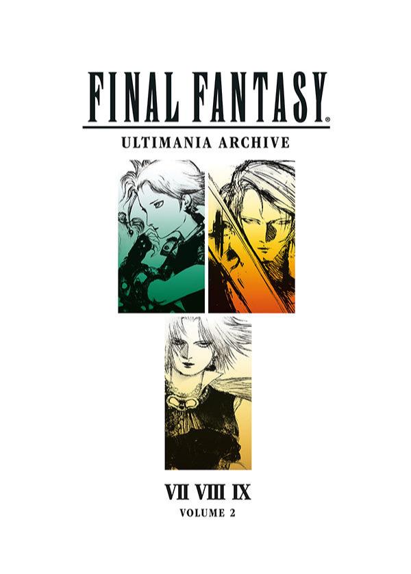 Kniha Final Fantasy Art Book Ultimania Archive Volume 2 (PC)