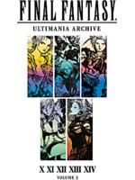 Kniha Final Fantasy Art Book Ultimania Archive Volume 3