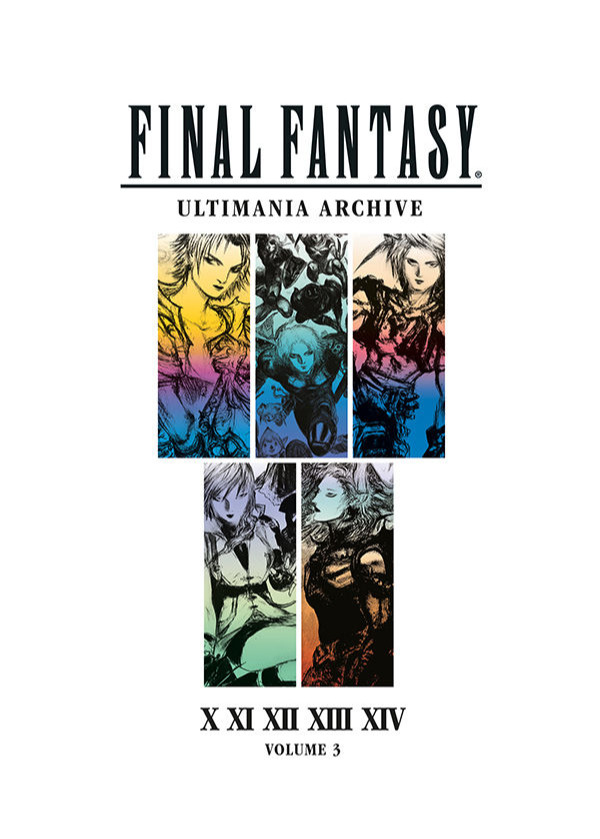 Kniha Final Fantasy Art Book Ultimania Archive Volume 3 (PC)